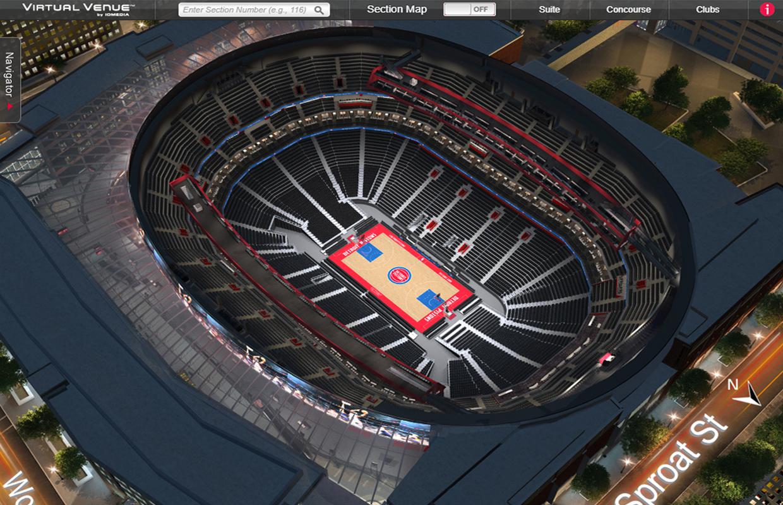 Detroit Pistons Lca Virtual Venue By Iomedia